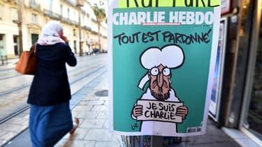"""""""Charlie Hebdo"""" a été tiré à 5 millions d'exemplaires, un record historique pour la presse française"""