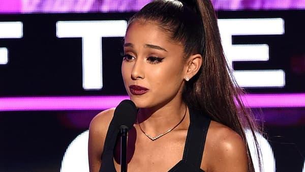 La chanteuse américaine Ariana Grande.