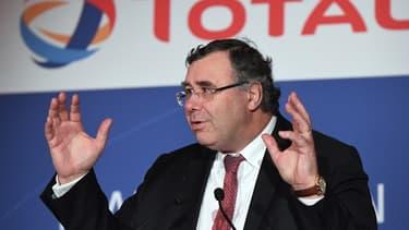 Le PDG de Total, Patrick Pouyanné.