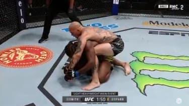 UFC : Smith prend le dessus sur Spann