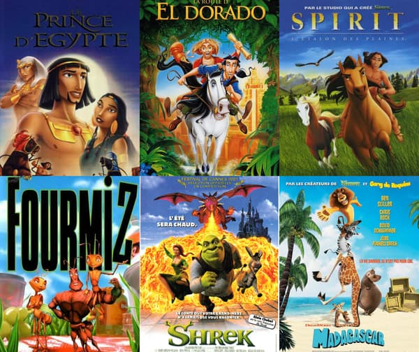 Les films Dreamworks