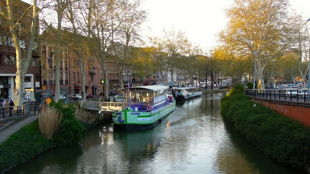 Le Canal du Midi, à Toulouse (image d'illustration)