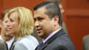 Georges Zimmerman quittant la salle d'audience du tribunal de Sanford, en Floride, samedi.