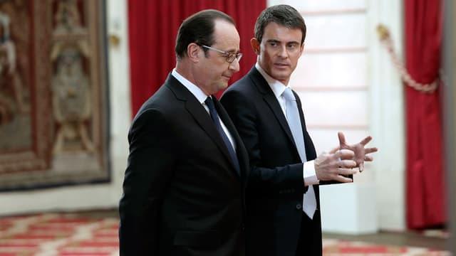 Manuel Valls et François Hollande regrettent les propos de Benjamin Netanyahu sur l'immigration des juifs vers Israël.