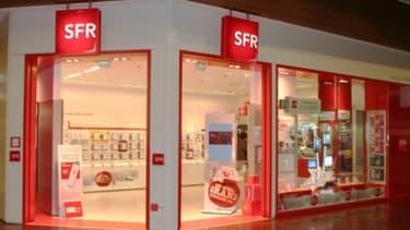 Une panne sur le réseau mobile de SFR lundi soir