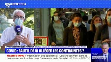 """Pr Gilles Pialoux: """"C'est grâce à la vaccination et au pass sanitaire que nous avons pu tamponner cette 4e vague"""""""