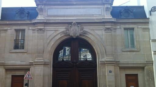 Le siège de Google France à Paris.
