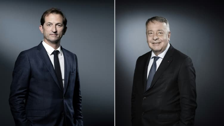 Les secrets de la rencontre entre les patrons de Veolia et Suez - BFMTV