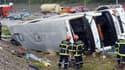 Un car polonais s'est renversé ce mardi 11 septembre à proximité de Mulhouse.