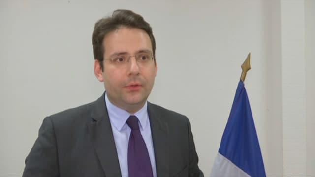 Matthias Fekl, ministre de l'Intérieur.