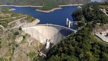 Le barrage d'Alto Lindoso (Nord du Portugal) a contribué à la production d'énergie hydroélectrique du pays.