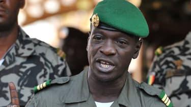 Amadou Haya Sanogo en avril 2012, après le coup d'Etat.