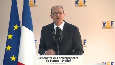Jean Castex à la REF le 26 août 2020
