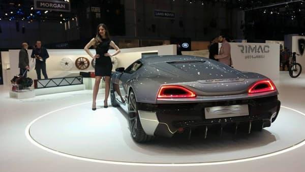 Rimac a dévoilé sa sportive Concept S, une électrique taillée pour la piste avec sa puissance hallucinante de 1384ch.