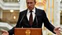 Vladimir Poutine, le 27 août dernier à Minsk, en Biélorussie.