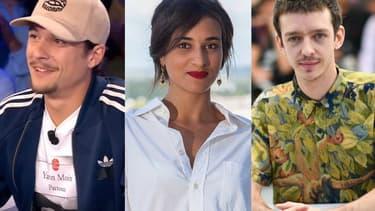 Nekfeu, Camélia Jordana et Nahuel Pérez Biscayart