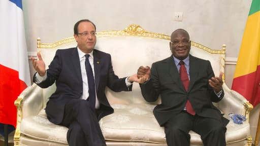 François Hollande et son homologue malien Ibrahim Boubacar Keïta le 19 septembre dernier.
