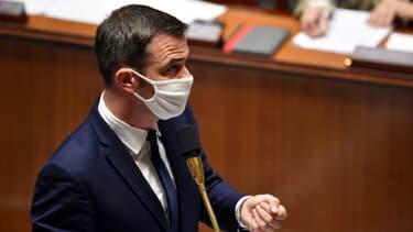 Olivier Véran le 29 septembre 2020 à l'Assemblée nationale