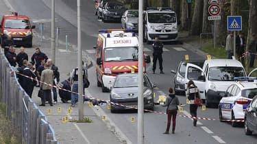 L'Ile-Saint-Denis où a eu lieu la fusillade entre un policier et le présumé braqueur en cavale.