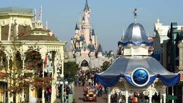 Disneyland Paris, le 16 mars 2017