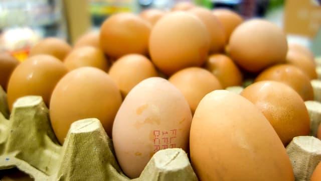 8,5 millions d'oeufs en moins ont été vendus