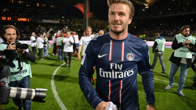 PSG - David Beckham capitaine ?