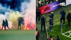 Incidents dans les stades : Que risquent Saint-Etienne et l'OM ?