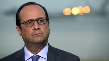 """François Hollande a souligné qu'il devait """"y avoir une cohérence dans l'action qui est conduite"""" et une """"éthique collective"""" au gouvernement, après la démission de Christiane Taubira - 27 janvier 2016"""