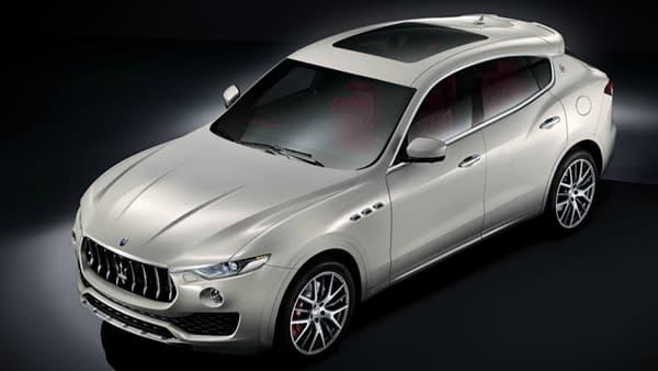 Le tout premier SUV Maserati, un de plus dans la gamme des luxueux utilitaires urbains.