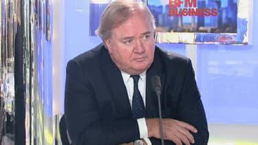 Denis Kessler sur le plateau du 12h30, répondait aux questions d'Hedwige Chevrillon ce mardi 26 mars