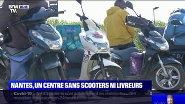 À Nantes, la mairie limite l'accès du centre-ville aux scooters