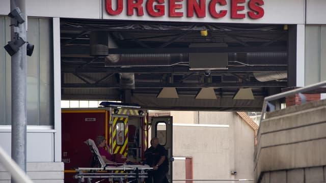 L'entrée d'un service des urgences