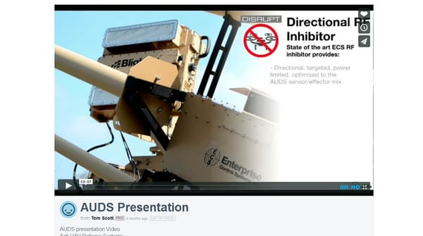La vidéo de présentation de l'AUDS visible sur Vimeo : https://vimeo.com/127664661
