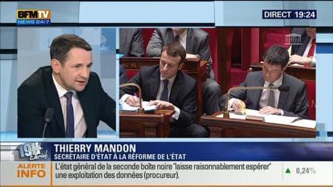 Thierry Mandon face à Ruth Elkrief