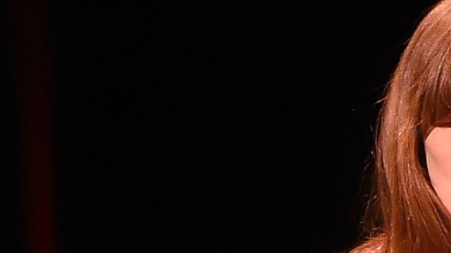 Carla Bruni sur scène à New York en 2014