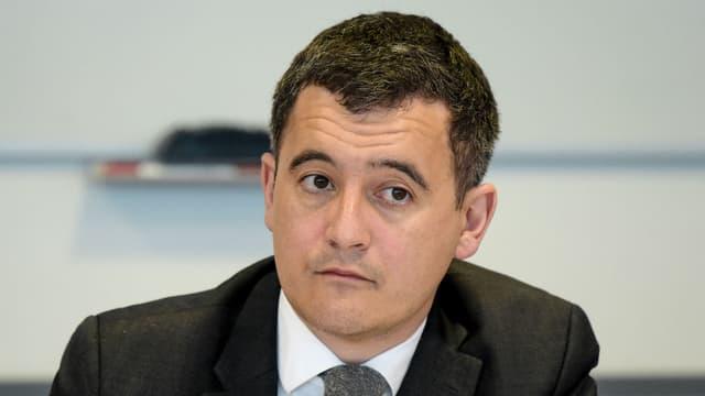 Gérald Darmanin, le ministre de l'Action et des comptes publics, le 29 mars 2018