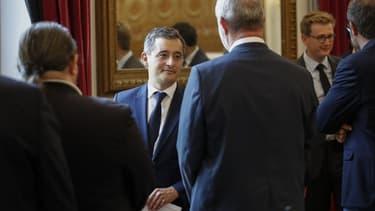 Gérald Darmanin place Beauvau le 8 juillet 2020.