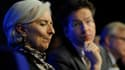 Christine Lagarde (FMI) et Jeroen Dijsselbloem (Eurogroupe) ont enfin trouvé un accord.