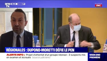 Régionales: Dupond-Moretti défie Le Pen - 08/05
