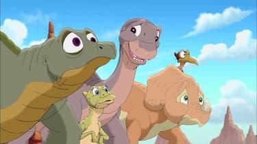 """Le film """"Petit Dinosaure"""", réalisé par Don Bluth"""