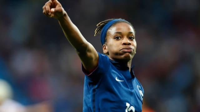 Elodie Thomis avait égalisé pour l'équipe de France