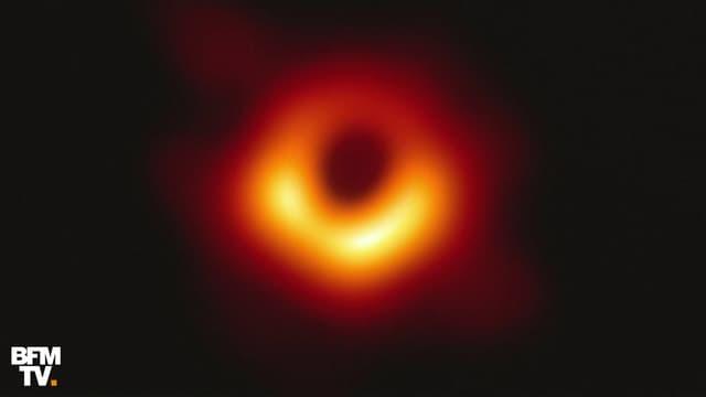 Toute première image d'un trou noir