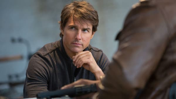 "Tom Cruise dans ""Mission: Impossible - Rogue Nation"" -"