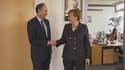 Jean-François Copé et Angela Merkel se sont rencontrés mardi à Berlin.