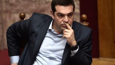 Alexis Tsipars doit composer avec l'opinion publique grecque, défavorable à certaines mesures.