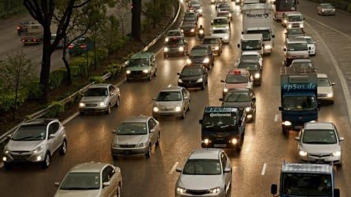 Le nombre d'accidents de voitures a baissé