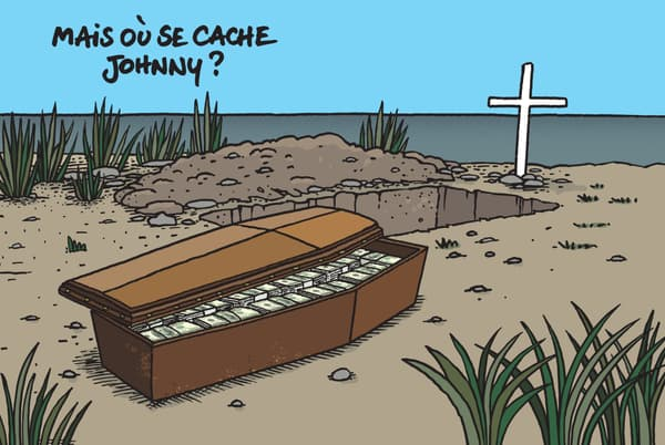 Johnny par Geluck