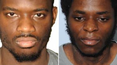 De gauche à droite, Michael Adebolajo, condamné à de la prison à vie et  Michael Adebowale, condamné à 45 ans.