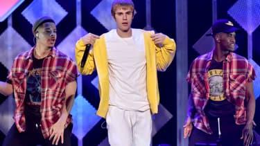Justin Bieber sur scène, le 9 décembre 2016