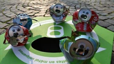 Les canettes sont 100 % recyclables à l'infini: le GIE la Boîte boisson et Eco-Emballages ont noué un partenariat de 2 ans pour accélérer le tri et le recyclage